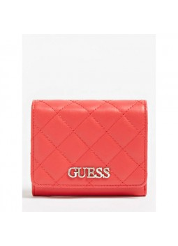 Mini portefeuille Illy rouge Guess SWVG79