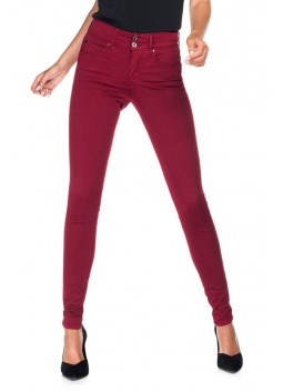 Pantalon Salsa 115544 32 Secret bordeaux