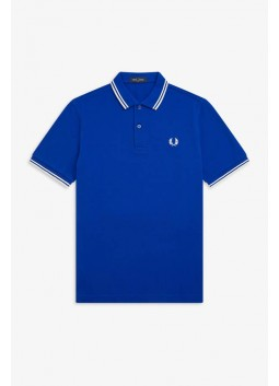 Polo bleu Fred Perry M3600