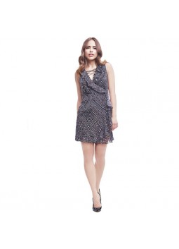 Robe Guess W72K85-W8GD0 CRISTABELL gris
