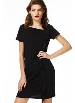 Robe noir Liu JO W17035J5003