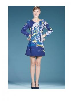 Robe Save The Queen 4979 bleu