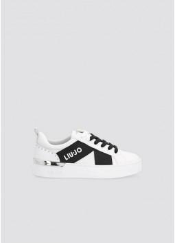 Sneackers blanches Liu Jo BF1081