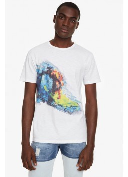 T shirt Benedikt Desigual 19SMTK27
