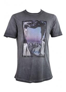 T Shirt HAMAKI-HO MI1818H gris