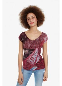 T shirt Ivette Desigual 19SWTKCX