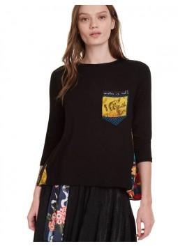 T shirt Lindsey Desigual 19WWTKCN