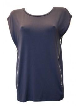 T Shirt Liu Jo F15126 bleu marine
