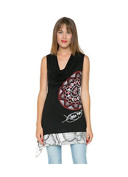 Tunique Desigual 61T25K1 2000 Negro