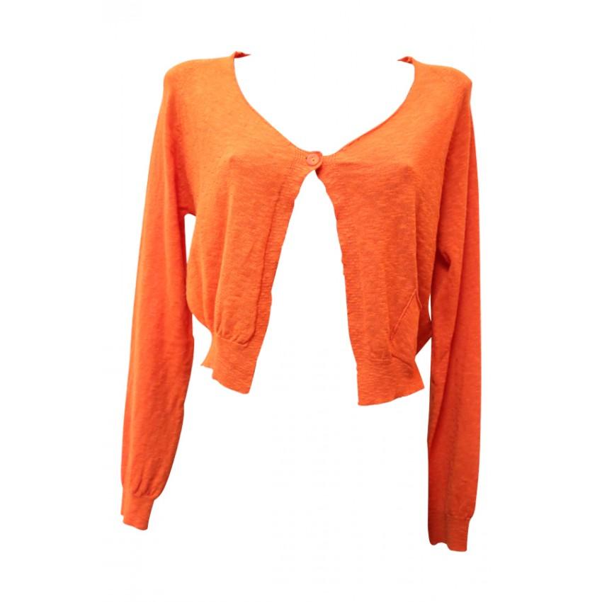 Gilet la f e marabout e w9144 gilet orange disponible sur eshop lessculpteurs - Fee maraboutee eshop ...