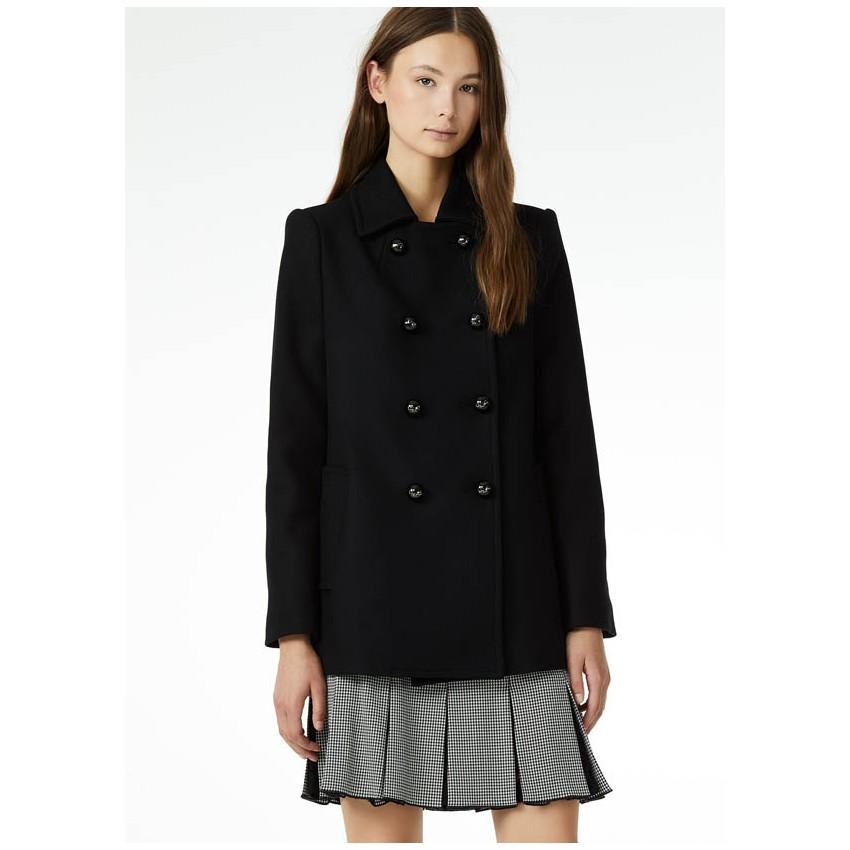 Liu Jo C68317 Manteau en drap de laine New Formal, chez lessculpteurs 2d5c874deae4