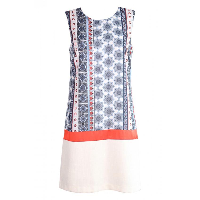 La f e marabout e robe fa3140 cru en polyester sur eshop lessculpteurs - Fee maraboutee eshop ...