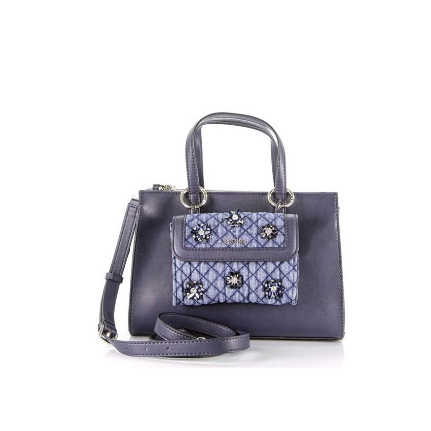 983cb927d2 Guess HWVD70 Sac Sienna bleu, disponible sur notre eshop chez lessculpteurs