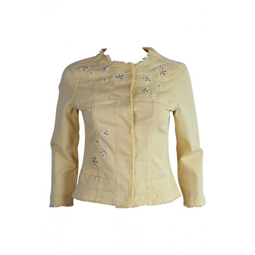 Disponible Sur W16181t6446 Jo Liu Lessculpteurs Eshop Veste Kate Jaune Xqwa1