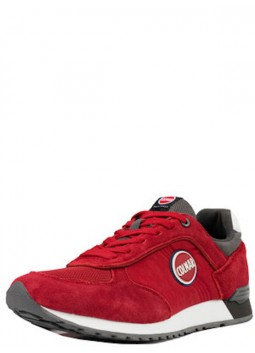 Basket COLMAR Travis Color Rouge