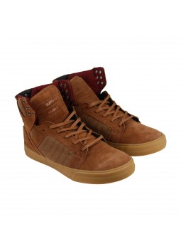 Chaussures montantes Supra Skytop Brown