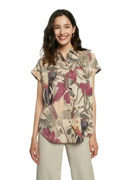 Chemise Etnican Desigual 21SWCN05