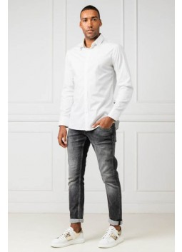 Chemise Sunset blanche Guess M94H20
