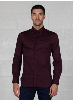Chemise Venice prune Guess M84H41