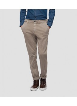 Chino Zeumar beige Replay M9627L