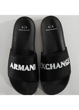Claquette Armani noir
