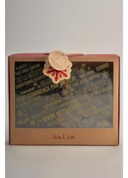 Coffret Foulard + portefeuille Salsa 123955