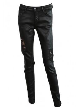 Jeans Guess W64AJ2D27M4 CURVE noir huilé