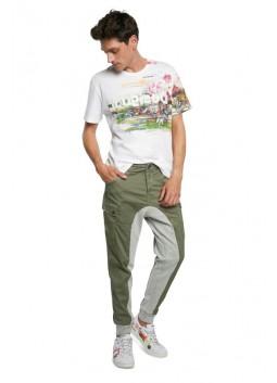 Pantalon cargo Teofrido Desigual 21SMPW08