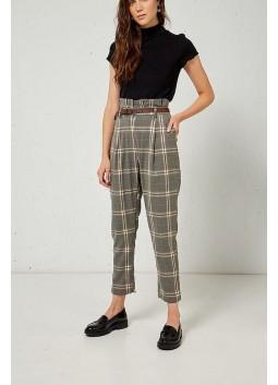 Pantalon à carreaux BSB 046-212015
