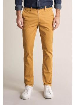 Pantalon chino moutarde Salsa 125091