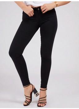 Pantalon skinny noir Guess W1GAJ2