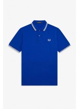 Polo bleu Fred Perry M3600