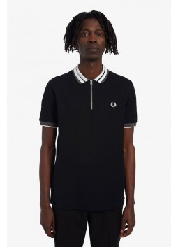 Polo noir Fred Perry M2554