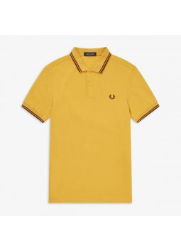 Polo or jaune Fred Perry FPMM3600