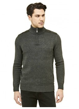 Pull homme col cheminé Guess M74R33Z1PU0