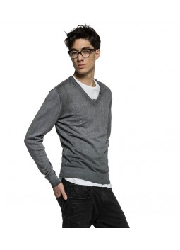 Pull Replay UK1310 gris
