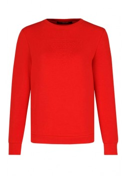 Pull rouge Guess W84Q35
