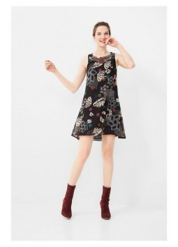 Robe Desigual by C Lacroix 67V2LA5 Black