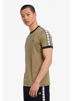 T-shirt à bordures Fred Perry M6347