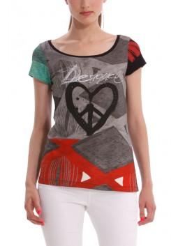 T Shirt Desigual 40T2630