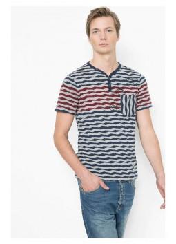 T Shirt Desigual 61T14D2 2042 rayée