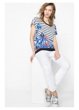T Shirt Desigual 61T25Q3 1015