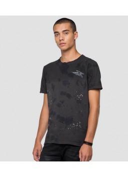 T-shirt en coton Replay M3175