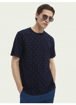 T-shirt imprimé Scotch and Soda