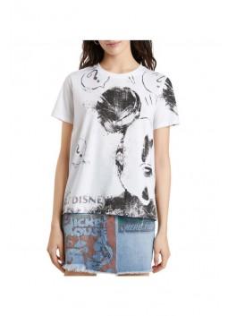 T-shirt Mickey Desigual 21WWTKB3