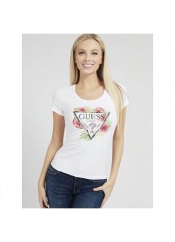 T-shirt Rebecca blanc Guess W1GI0N