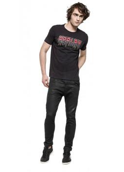 T Shirt Replay M3067 noir