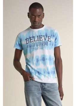 T-shirt tie-dye Salsa 124786