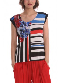 Top Desigual by C Lacroix 41T2L10