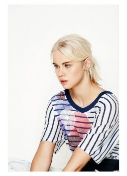 Tshirt ample Desigual 73T2EA5